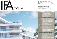 IFA MAGAZINE • N. 3 SEPTEMBER 2016 • Innovation for architecture