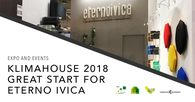 Success for Eterno Ivica at the opening day of Klimahouse 2018